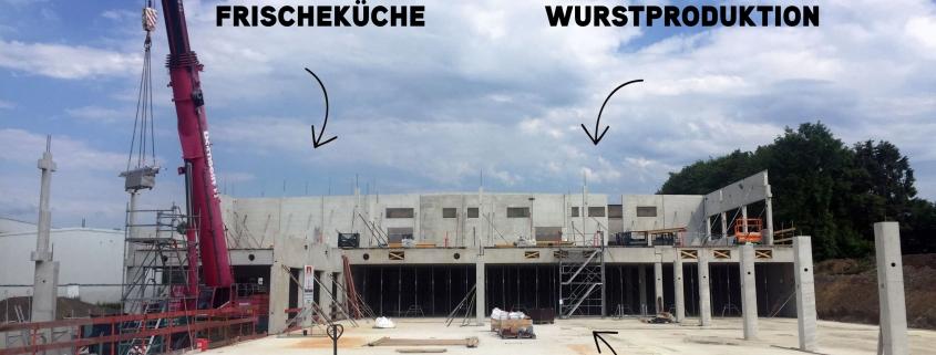 Bodenplatte und erste Wände